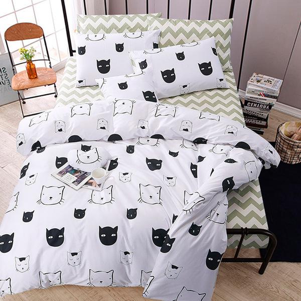 Постельное белье Riteil Постельное белье The Cat (2 сп. евро) постельное белье адель постельное белье регата 2 евро
