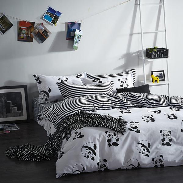 Постельное белье Riteil Постельное белье Panda (2 сп. евро) постельное белье адель шоколад евро