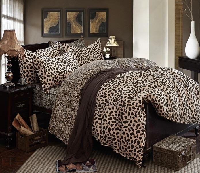 Постельное белье Riteil Постельное белье Леопард (2 сп. евро)