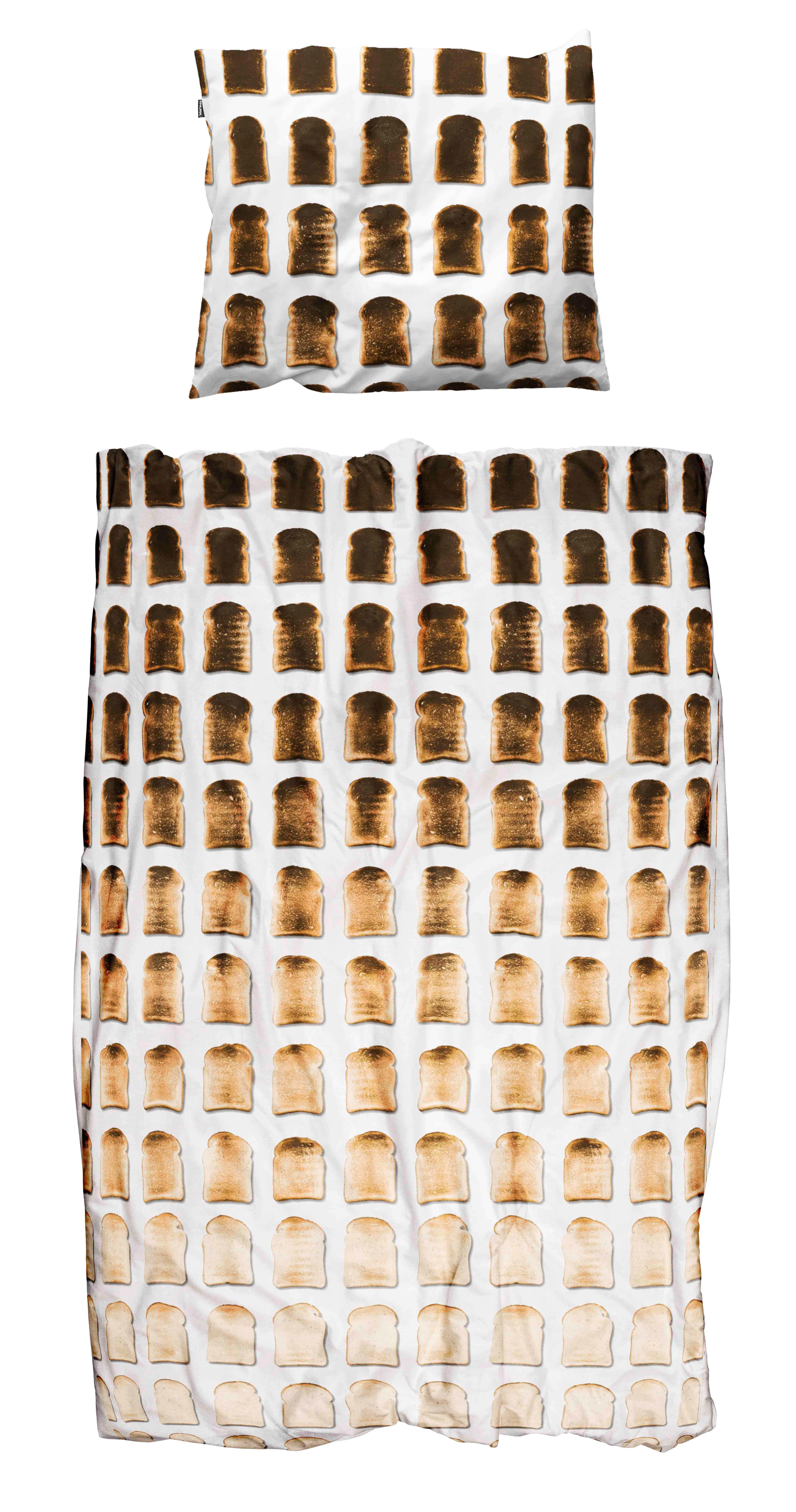 где купить Пододеяльники Snurk Пододеяльник Тост (150х200 см) по лучшей цене