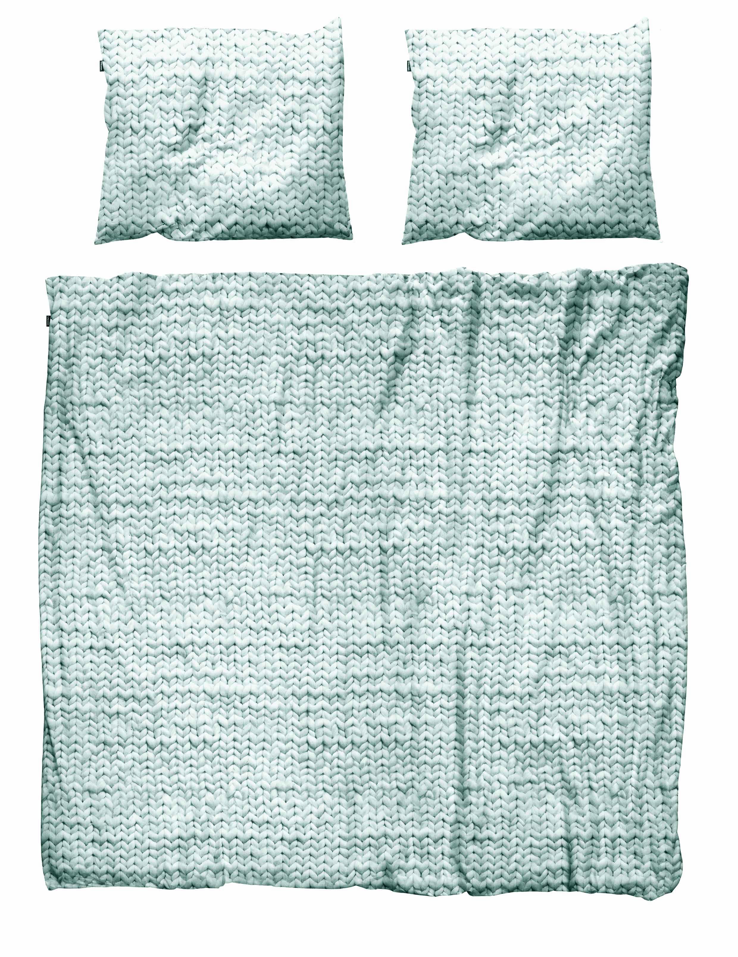Пододеяльники Snurk Пододеяльник Косичка Цвет: Зеленый (200х220 см)