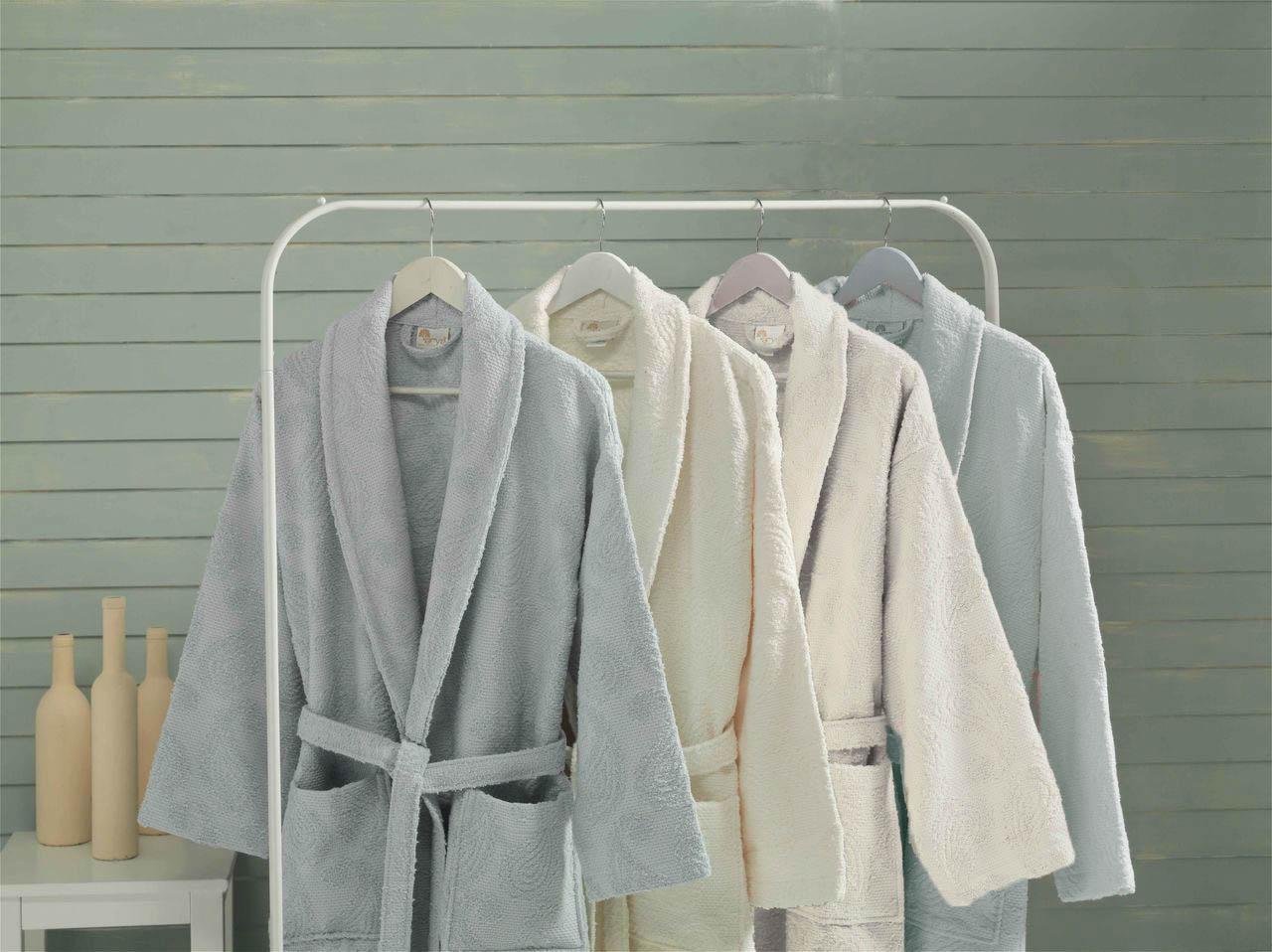 Сауны, бани и оборудование Arya Халат Misley Цвет: Белый (L) сауны бани и оборудование arya халат zeus цвет синий m