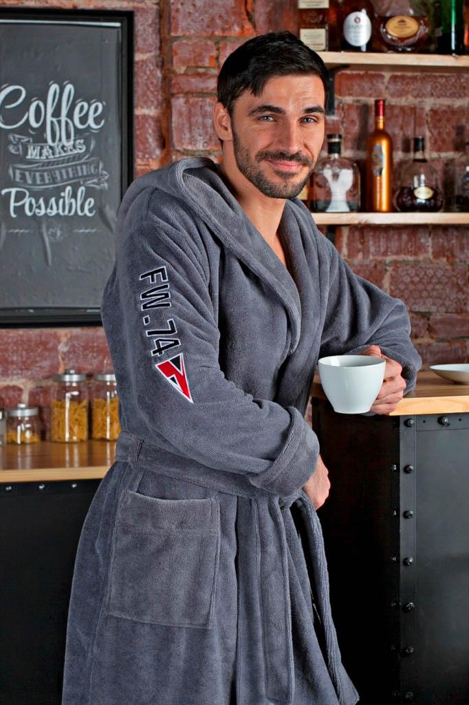 Сауны, бани и оборудование Five Wien Халат Royal Club Цвет: Серый (ххL) сауны бани и оборудование valentini набор для сауны fantasy