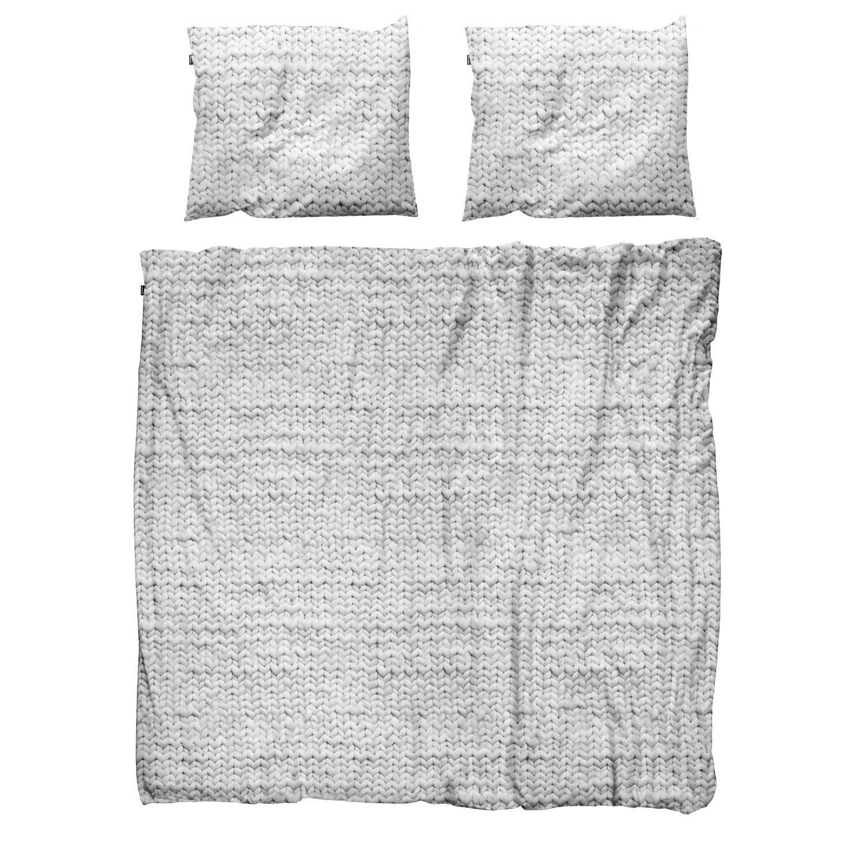 Пододеяльники Snurk Пододеяльник Косичка Цвет: Серый (200х220 см)