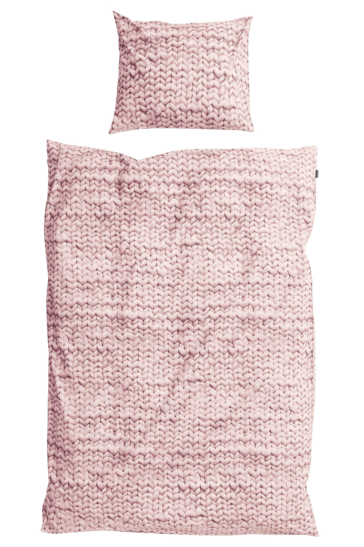 Пододеяльники Snurk Пододеяльник Косичка Цвет: Розовый (150х200 см)