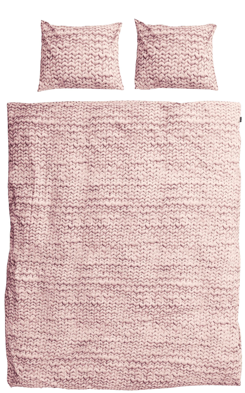 Пододеяльники Snurk Пододеяльник Косичка Цвет: Розовый (200х220 см)