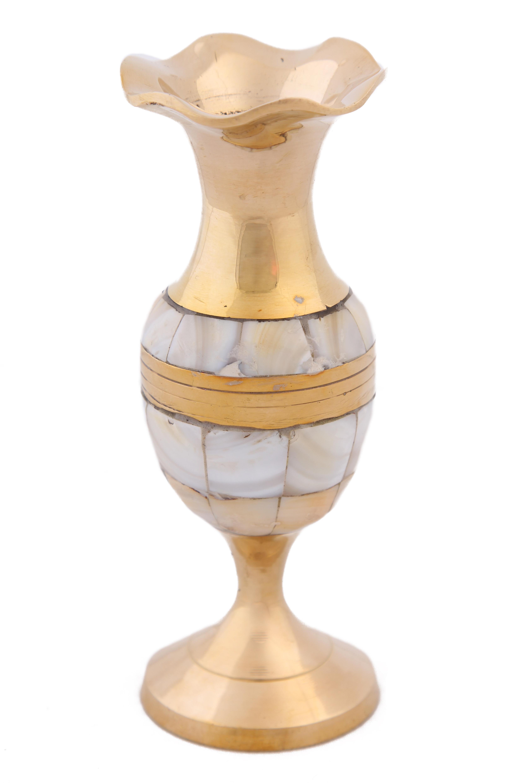 {} Ганг Ваза Bribie (6х6х13 см) ганг ваза фруктовница ракушка