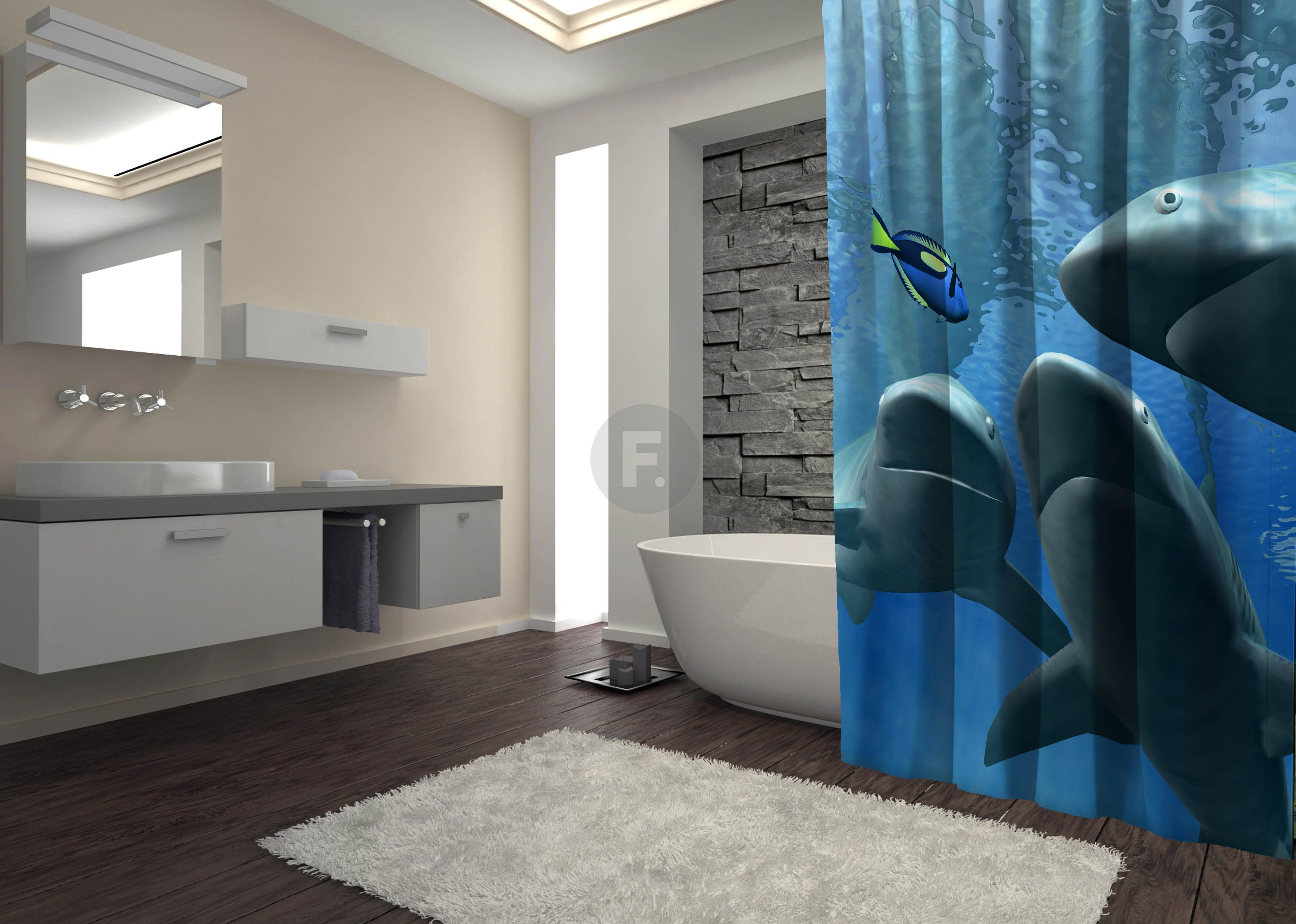 Шторы и карнизы для ванной Fototende Шторы для ванной Trish  (145х180) trish morey kita moteris