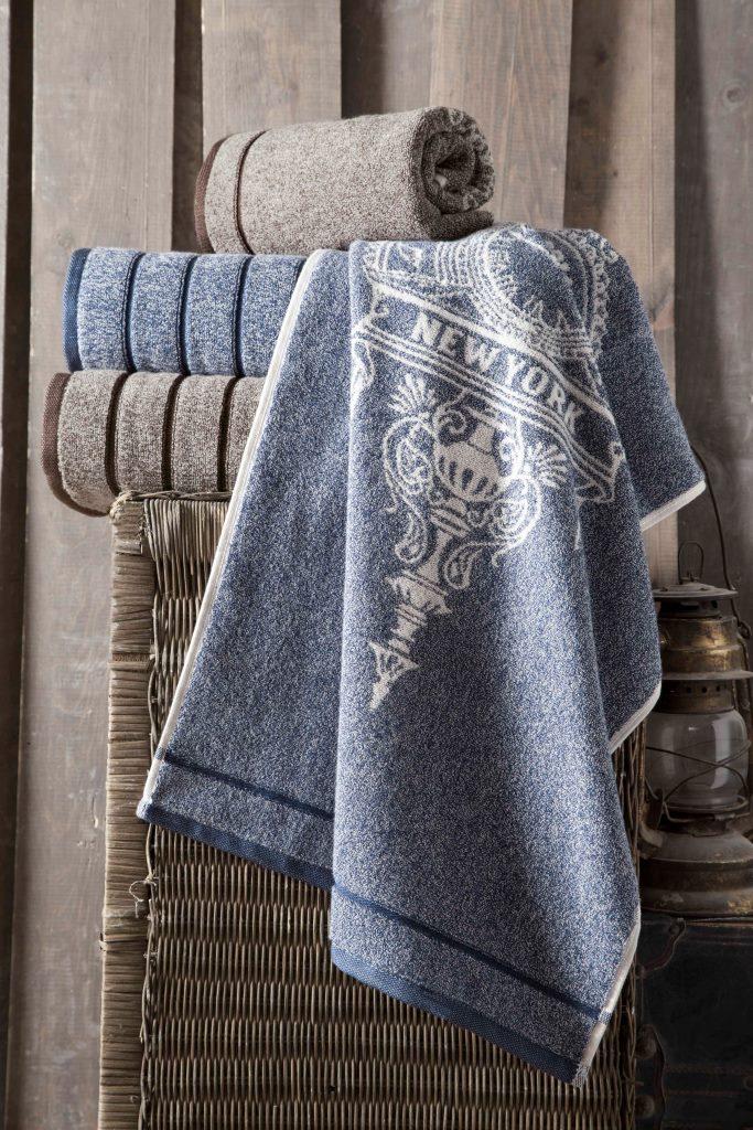 Полотенца Arya Полотенце Vicente Цвет: Синий (70х140 см) полотенце arya vicente синее 70х140 см