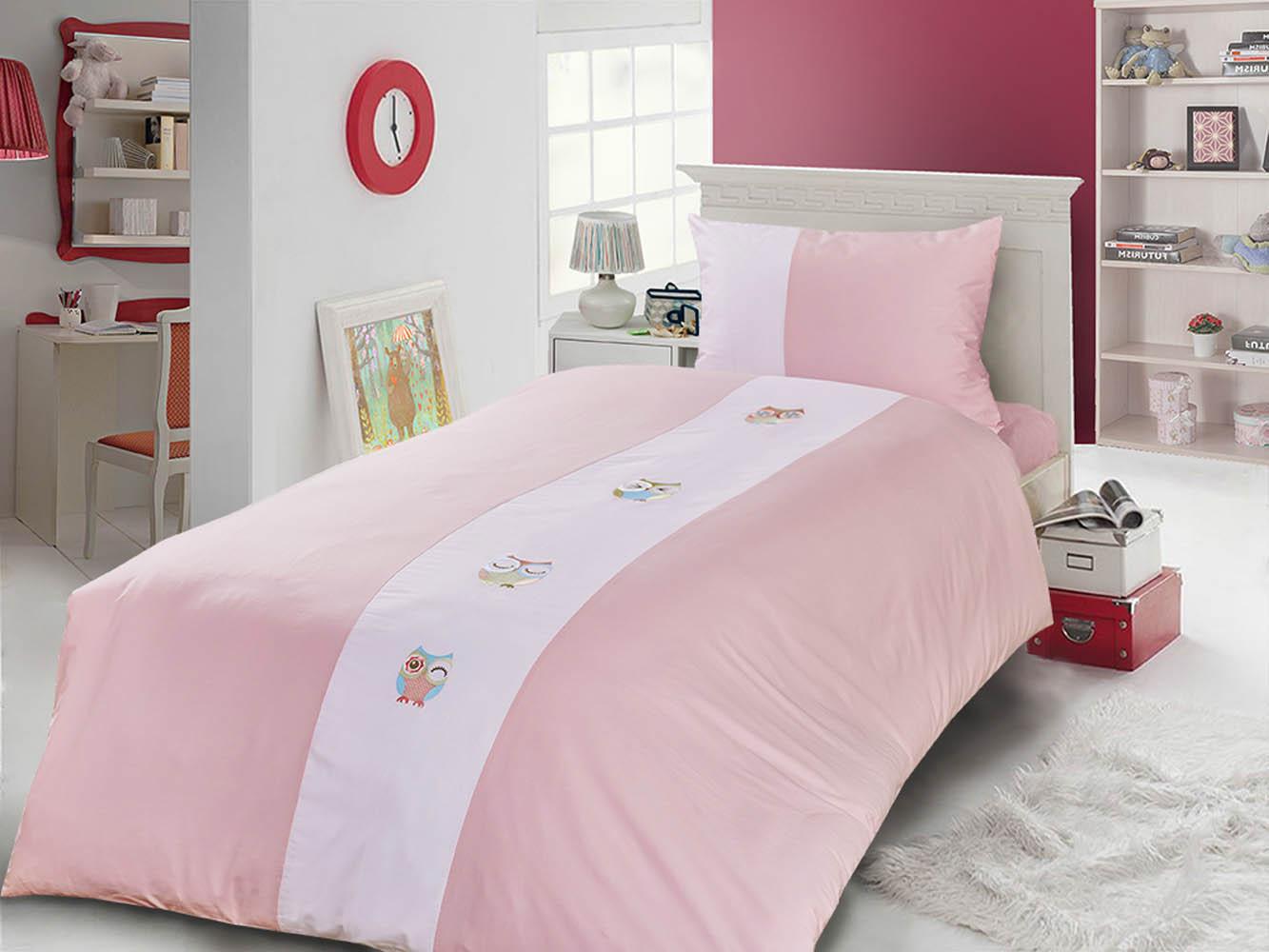 Детское Постельное белье Primavelle Детское Постельное белье Vetta Цвет: Розовый+Белый (115х145 см) vetta