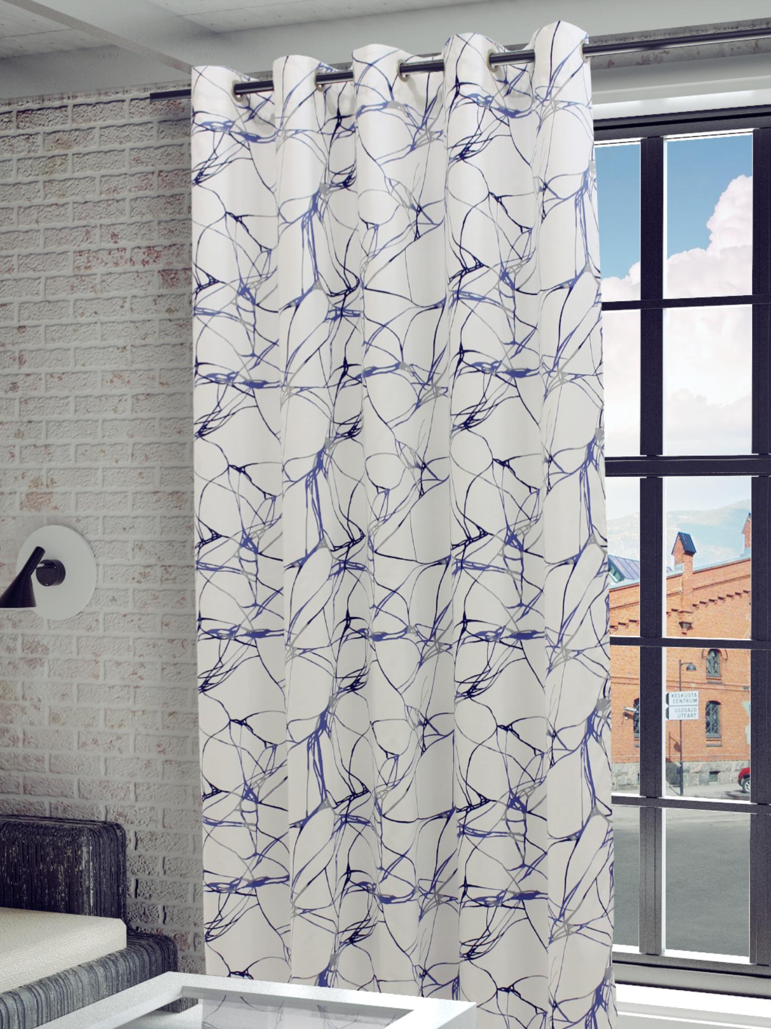 Шторы Sanpa Классические шторы Видана Цвет: Голубой шторы primavera классические шторы maev цвет персиковый