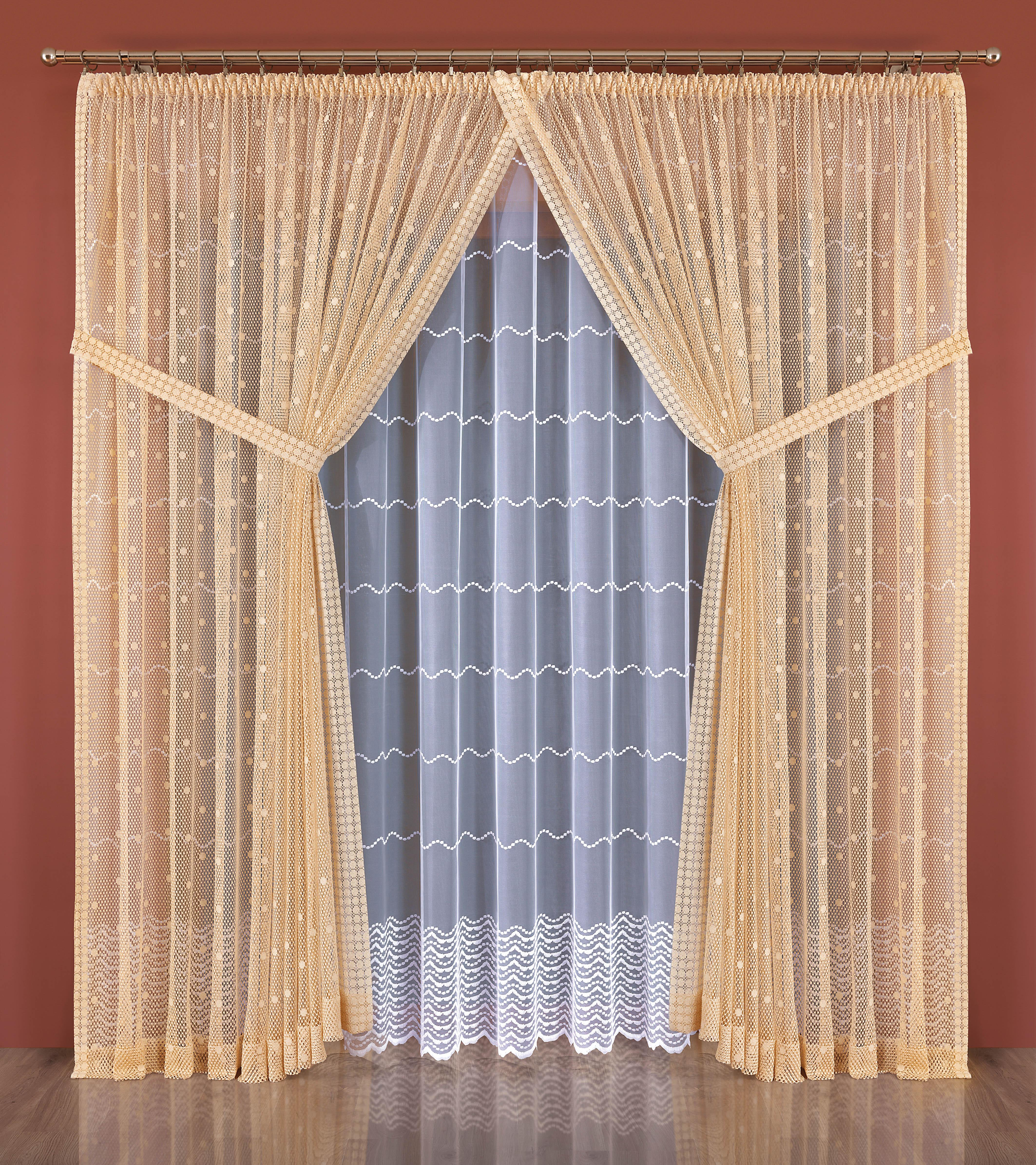 Шторы Wisan Классические шторы Rebekah как тюль на окно
