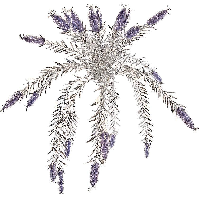 {}  Гирлянда Dee Цвет: Серебряный, Фиолетовый (150 см) homereligion ягодная гирлянда 150 см