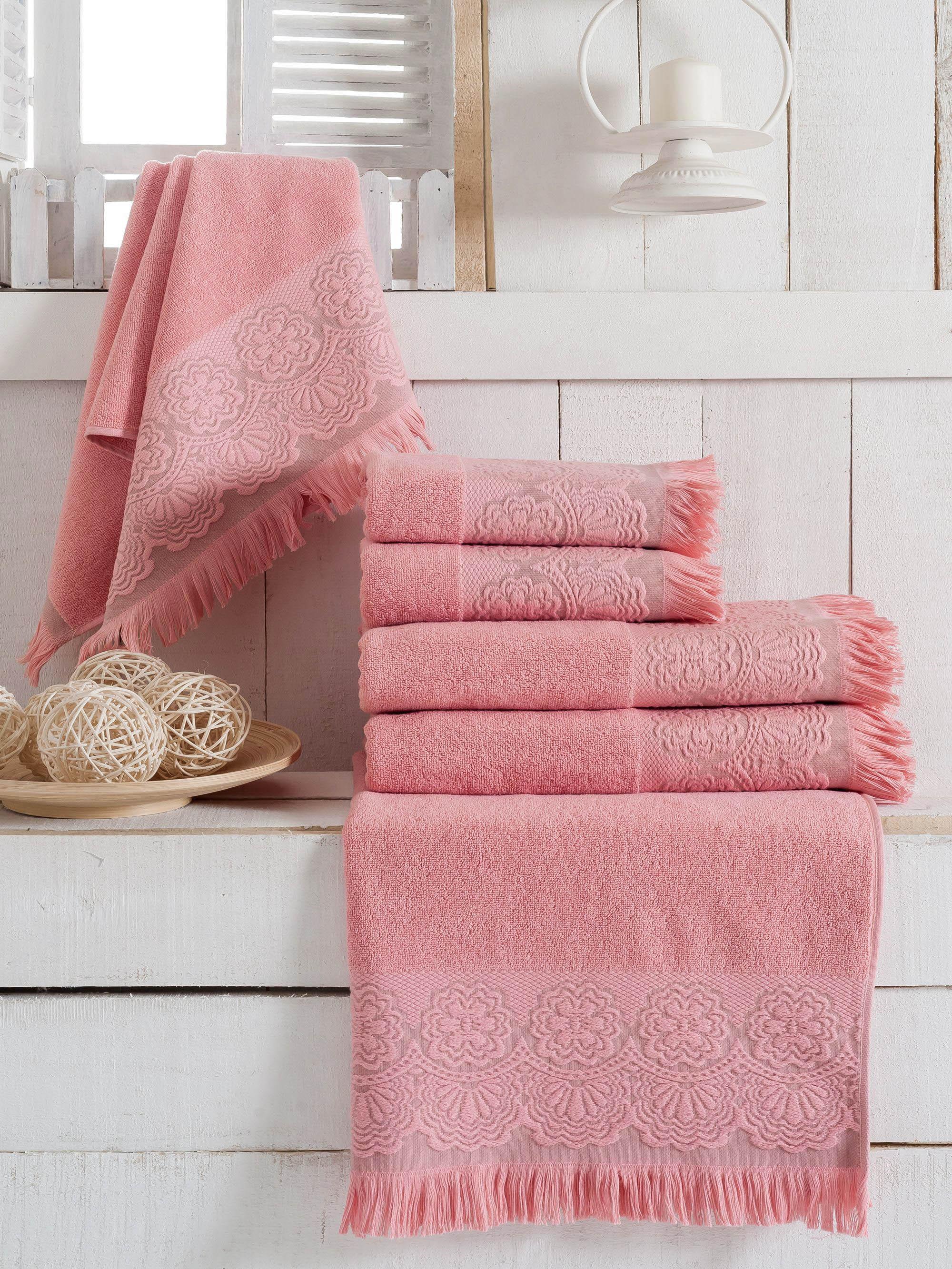 Полотенца Sokuculer Полотенце Zara Цвет: Розовый (70х140 см - 3 шт) pasta zara ракушка макароны 500 г