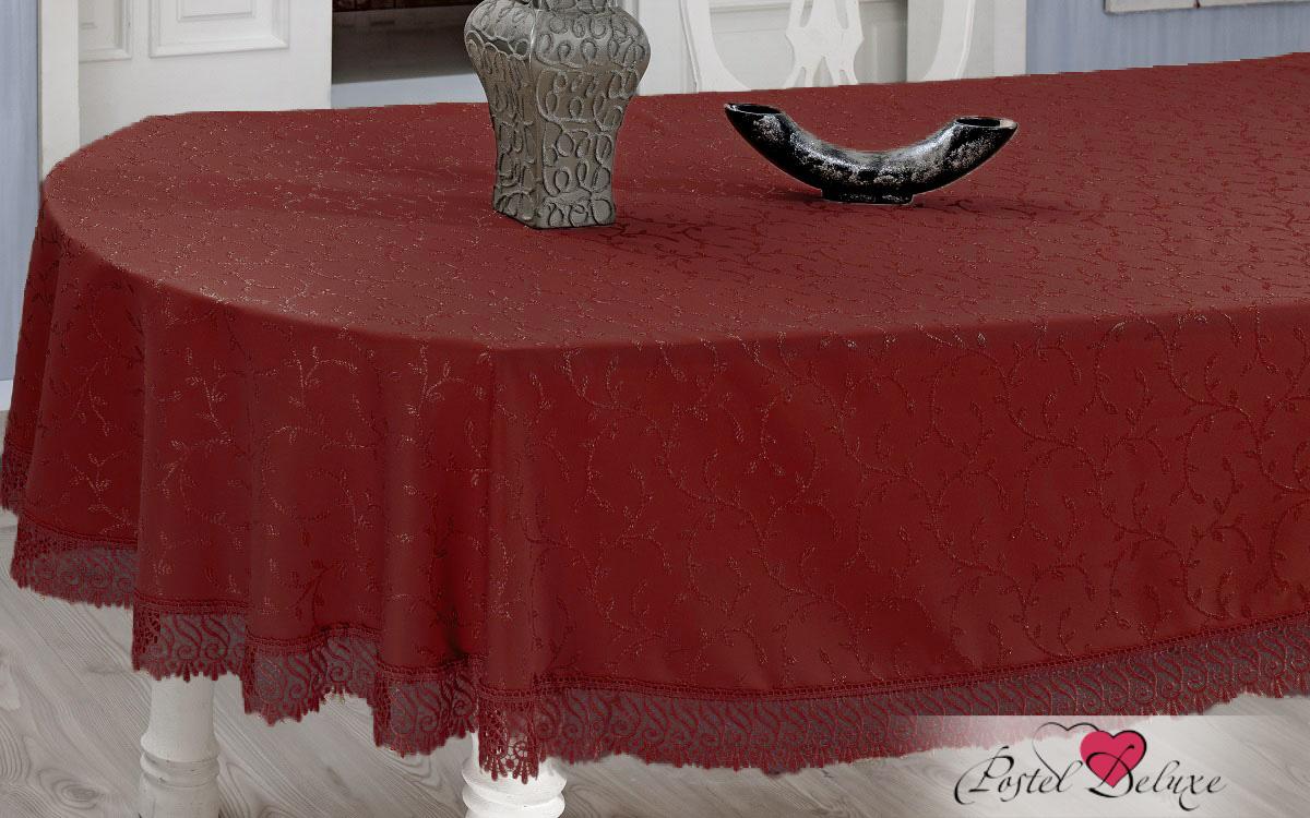Скатерти и салфетки EVDY Скатерть Evdy Цвет: Бордовый (160х280 см)