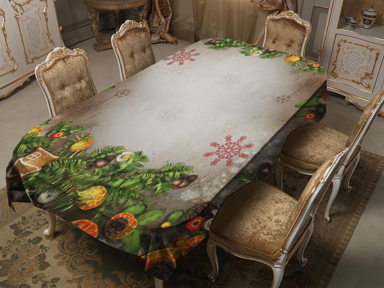 Скатерти и салфетки Elegante Скатерть Пряники (120х150 см)