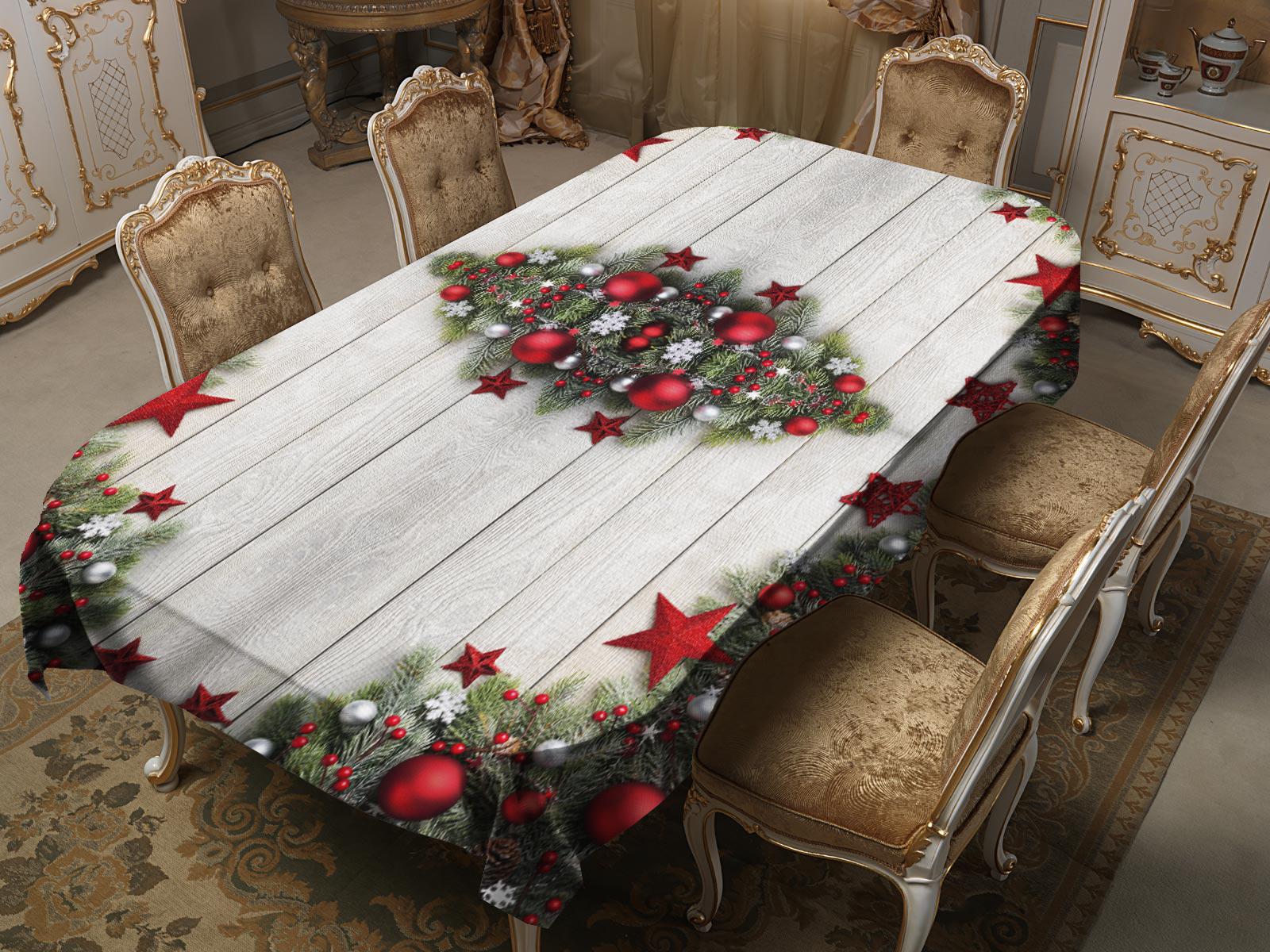 Скатерти и салфетки Elegante Скатерть Январь (120х150 см)