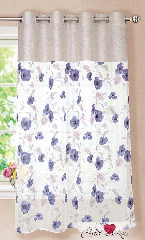 Шторы Garden Классические шторы Фиалочка Цвет: Синий шторы tac классические шторы winx цвет персиковый 200x265 см