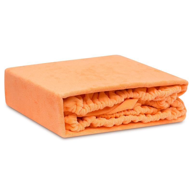 Простыни Bolero Простыня на резинкеБолеро Цвет: Оранжевый (160х200 см)