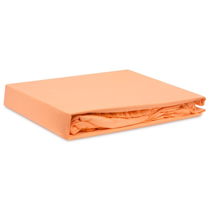 Простыни Bolero Простыня на резинке Болеро Цвет: Оранжевый (140х200 см) простыни candide простыня bamboo fitted sheet 130г м2 60x120 см