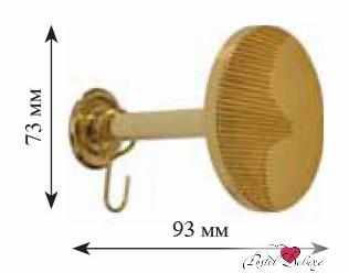 Карнизы и аксессуары для штор ARCODORO Розетка Месяц Цвет: Золото карнизы