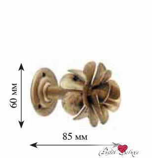 Карнизы и аксессуары для штор ARCODORO Розетка Роза Большая Цвет: Белый Мрамор недорого