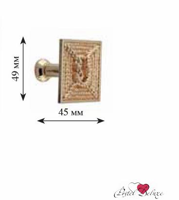 Карнизы и аксессуары для штор ARCODORO Розетка Морская Цвет: Золото карнизы