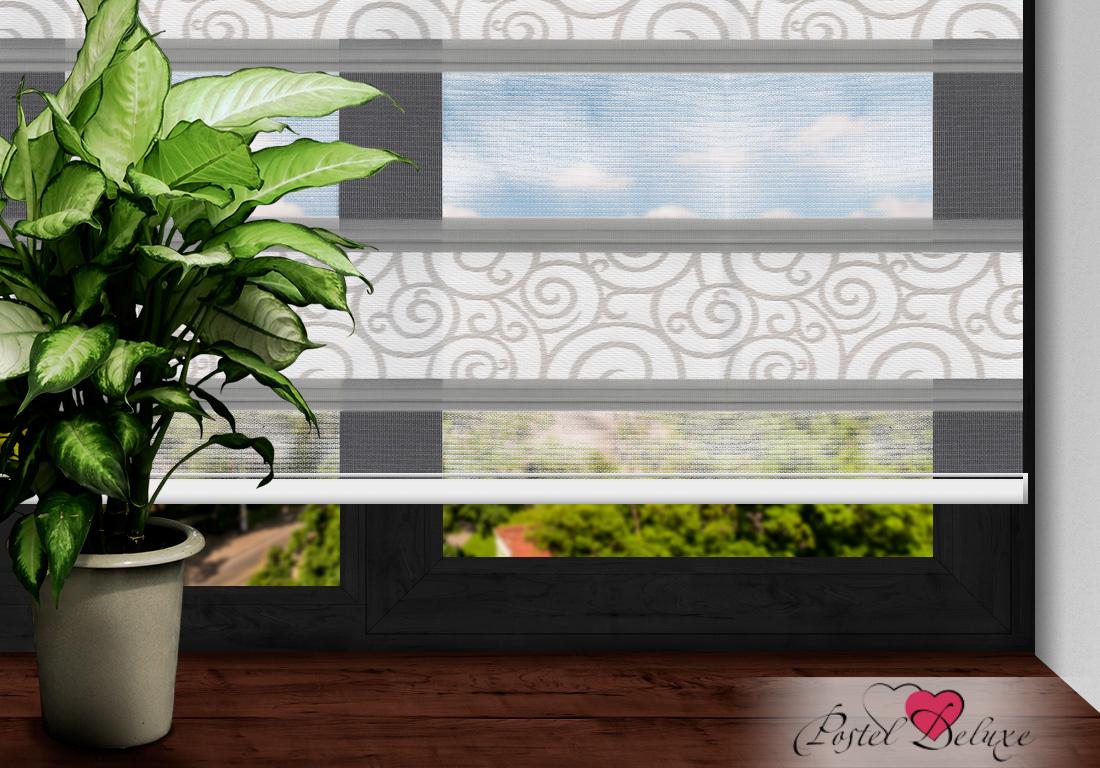 Римские и рулонные шторы Arya Рулонные шторы MellЦвет: Серый (120х200)