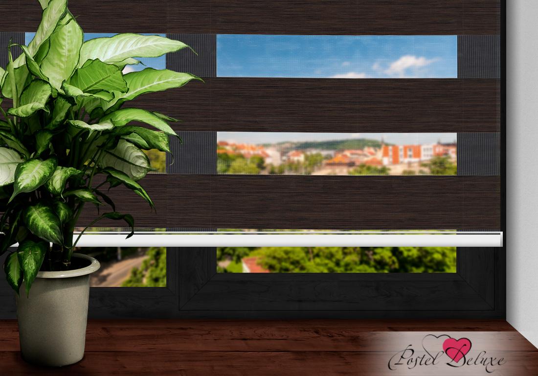 Римские и рулонные шторы Arya Рулонные шторы MadridЦвет: Темно-Коричневый (120х200)