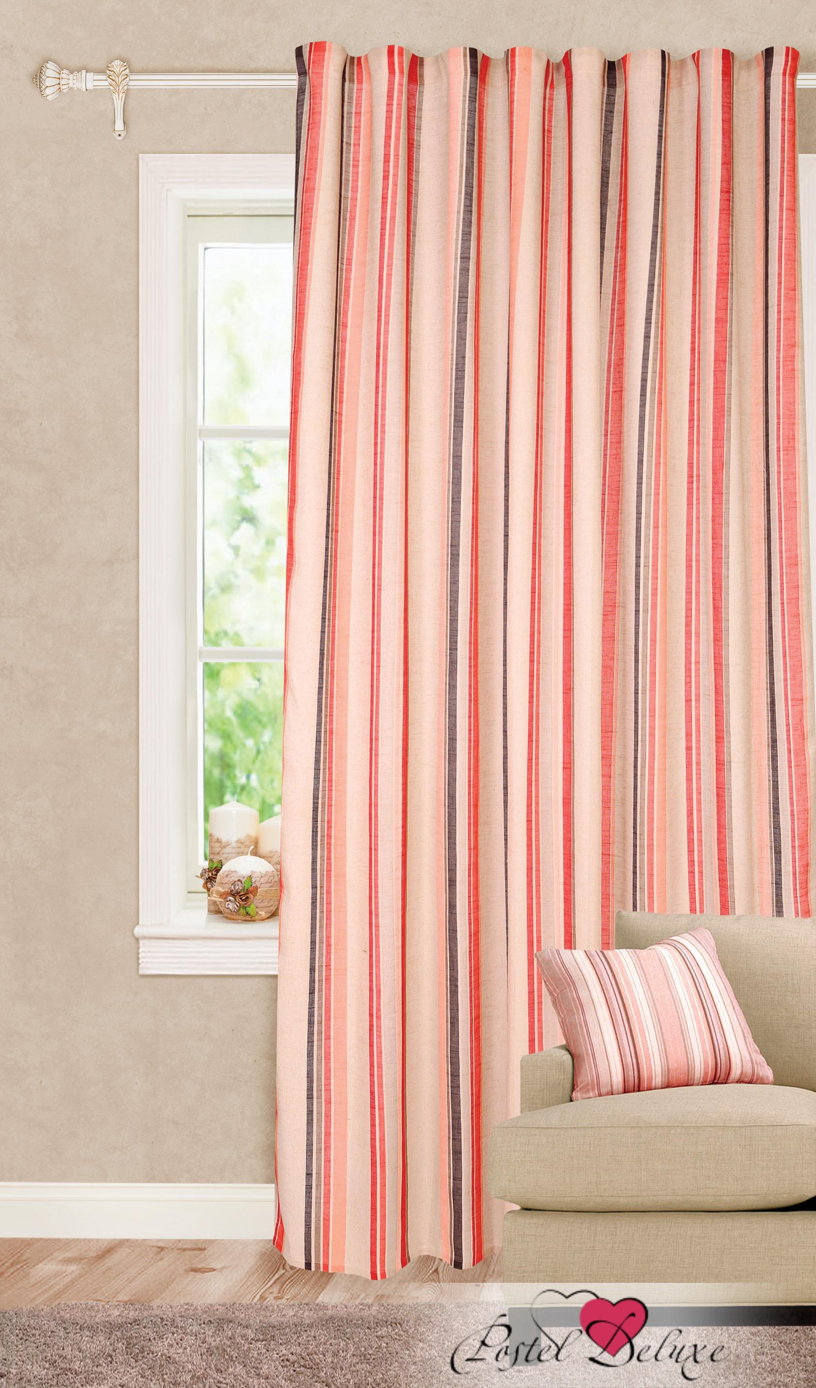 Шторы Garden Классические шторы Яркие Полосы Цвет: Красный портьеры garden шторы