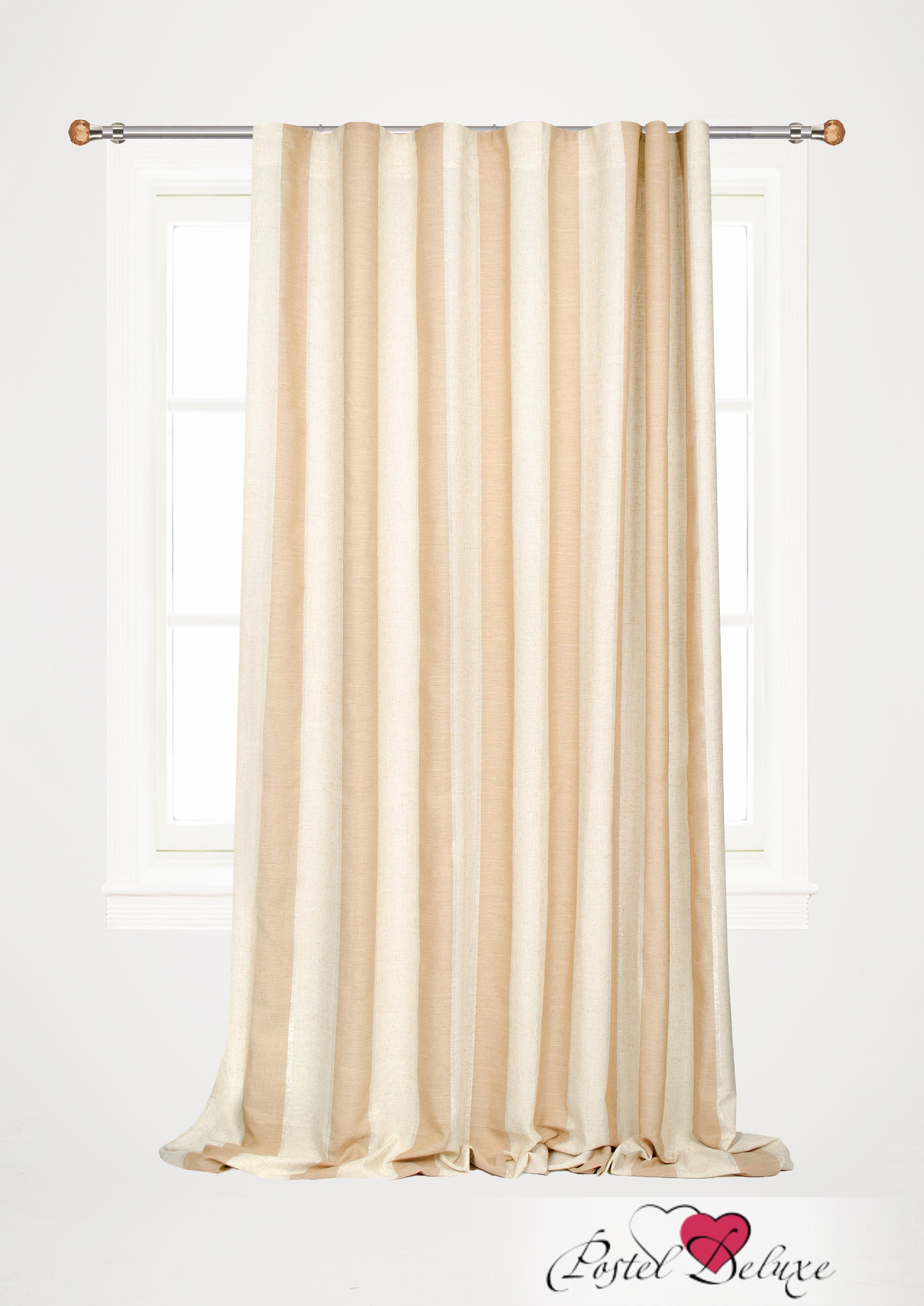 Шторы Garden Классические шторы Лента Цвет: Бежевый с Люрексом шторы tac классические шторы winx цвет персиковый 200x265 см