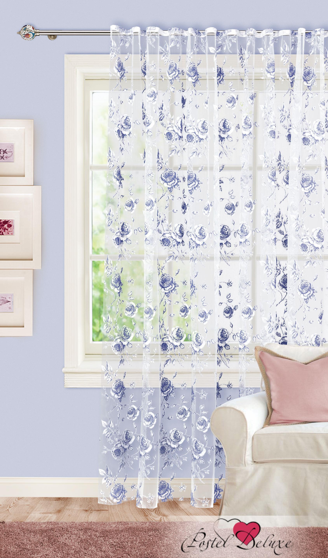 Шторы Garden Классические шторы Розарий Цвет: Синий шторы tac классические шторы winx цвет персиковый 200x265 см