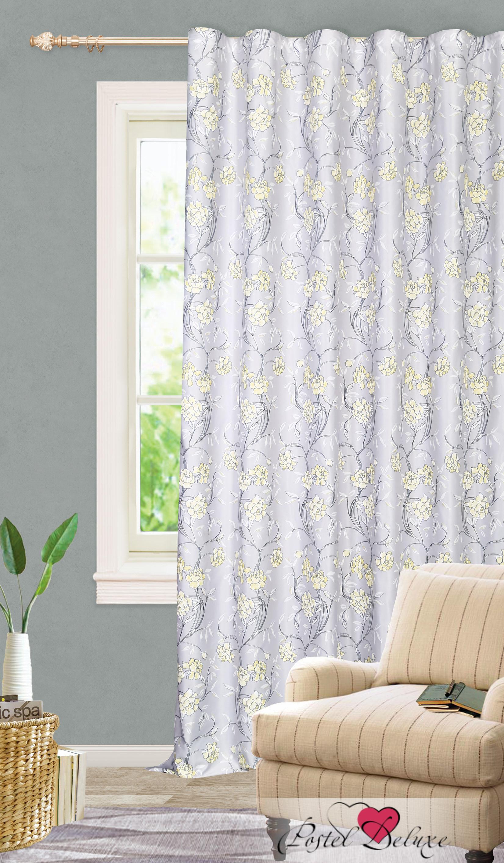 Шторы Garden Классические шторы Стена Цветов Цвет: Серый портьеры garden шторы