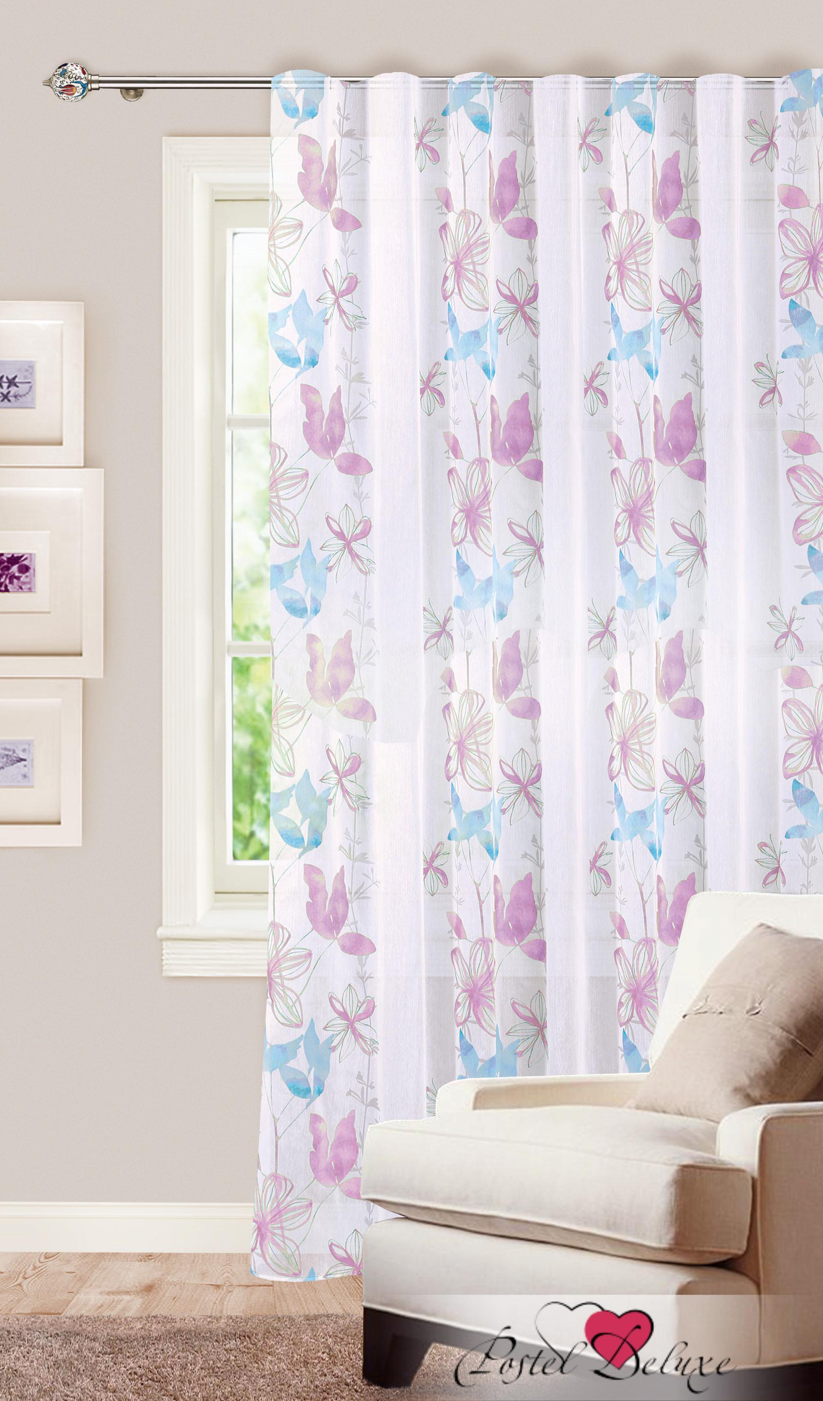 Шторы Garden Классические шторы Летняя Цвет: Бело-Сиренево-Голубой garden garden классические шторы букет цвет розовый голубой персиковый