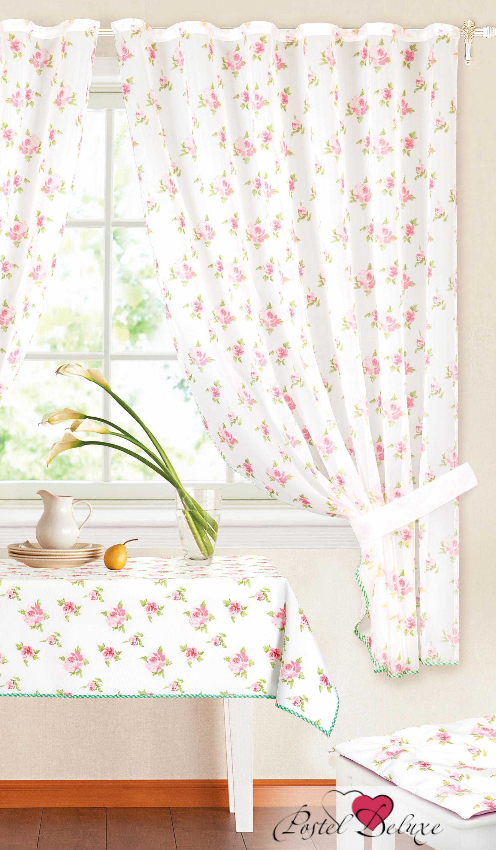 Шторы Garden Классические шторы Милые Розочки Цвет: Фуксия шторы tac классические шторы winx цвет персиковый 200x265 см
