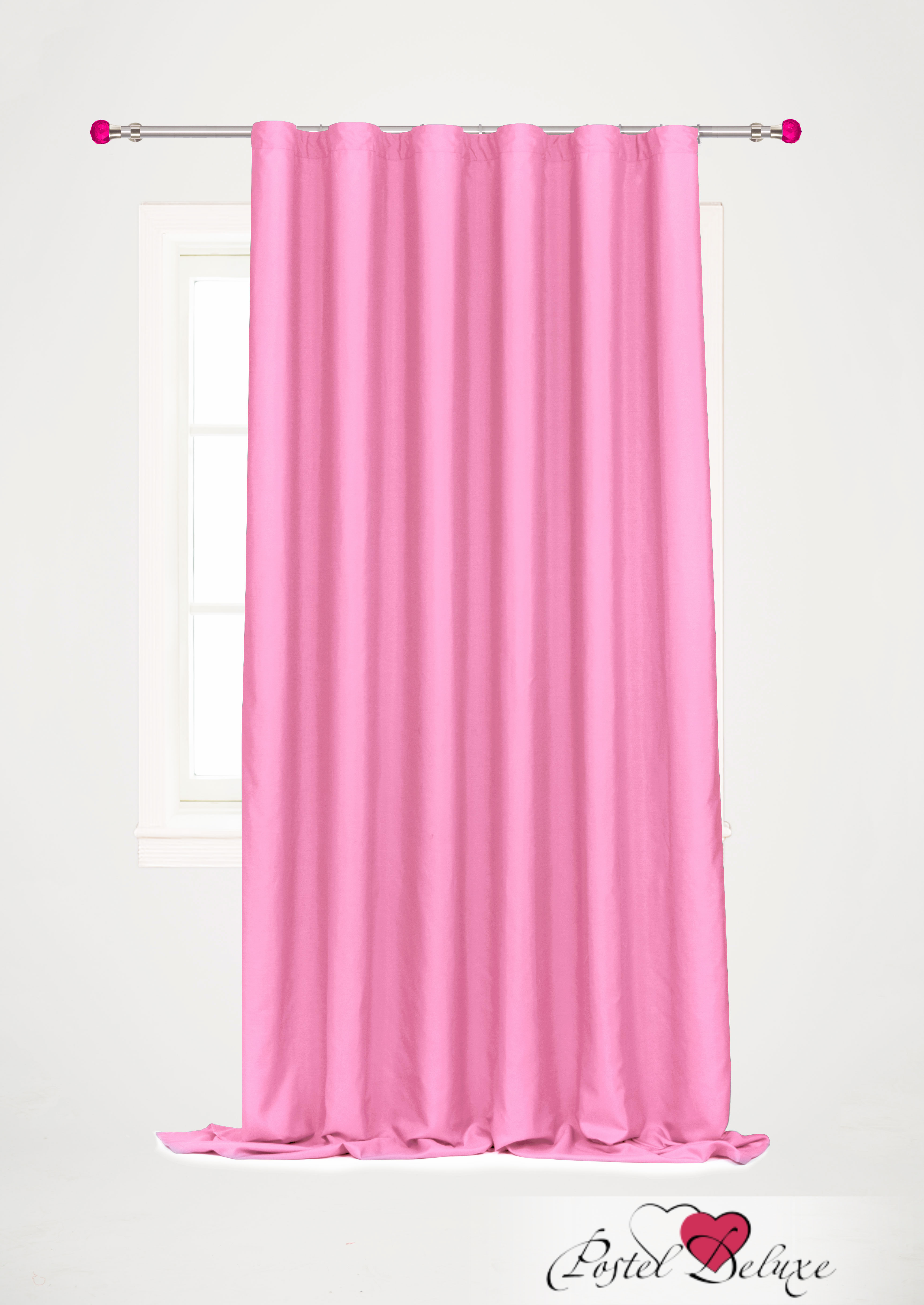 Шторы Garden Классические шторы Ореадна Цвет: Розовый шторы tac классические шторы winx цвет персиковый 200x265 см