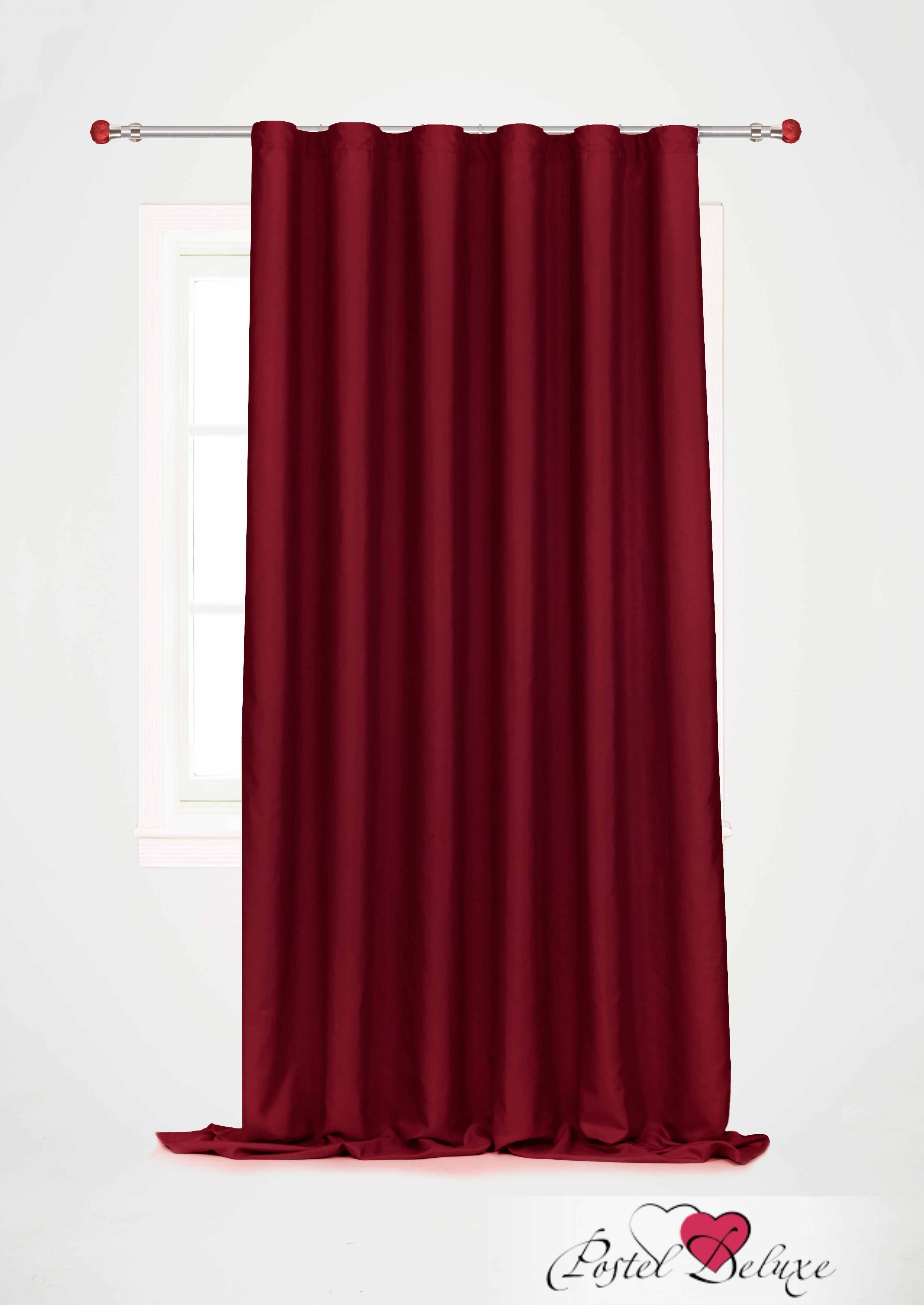 Шторы Garden Классические шторы Ореадна Цвет: Бордовый шторы tac классические шторы winx цвет персиковый 200x265 см