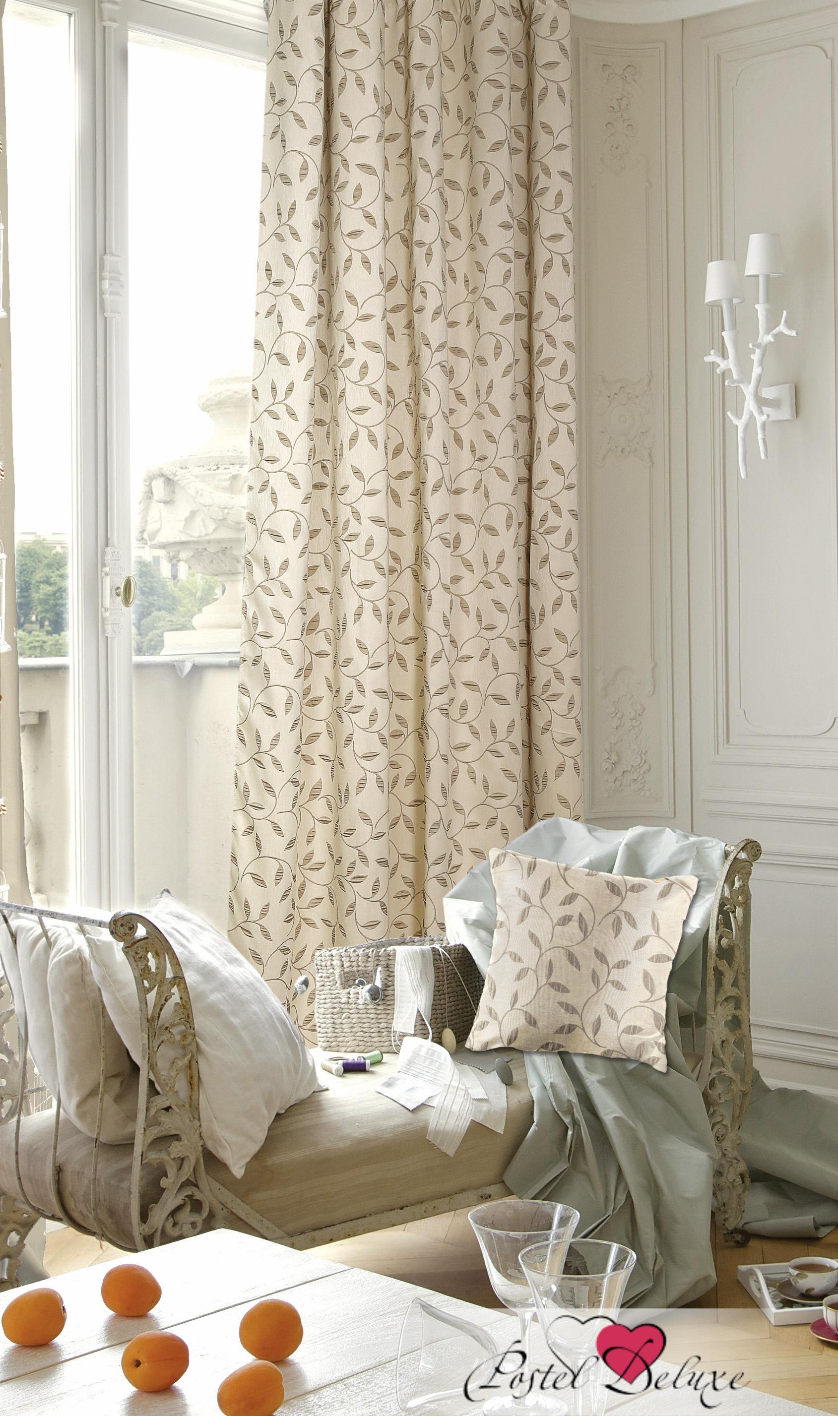 Шторы Garden Классические шторы Оливия Цвет: Бежевый шторы tac классические шторы winx цвет персиковый 200x265 см