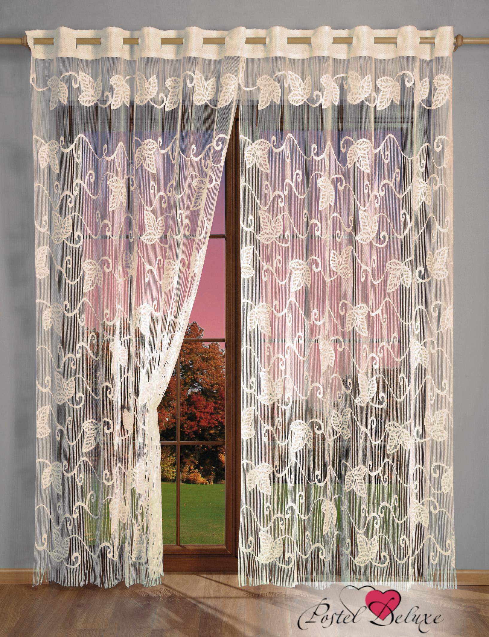 Шторы Wisan Нитяные шторы Laura Цвет: Кремовый wisan wisan нитяные шторы lauraцвет белый