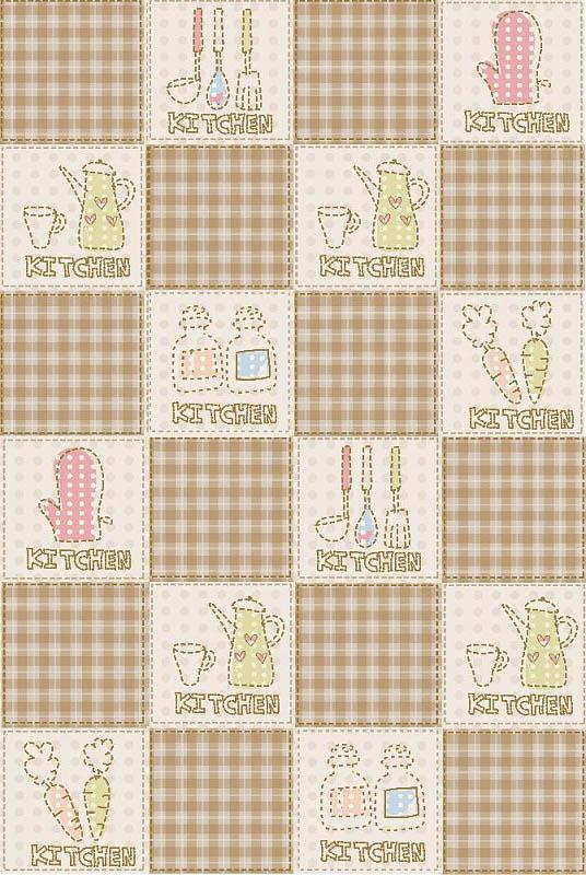 Скатерти и салфетки StickButik Скатерть Кухонный Декор (120х120 см) кухонный гарнитур трия фэнтези 120 см