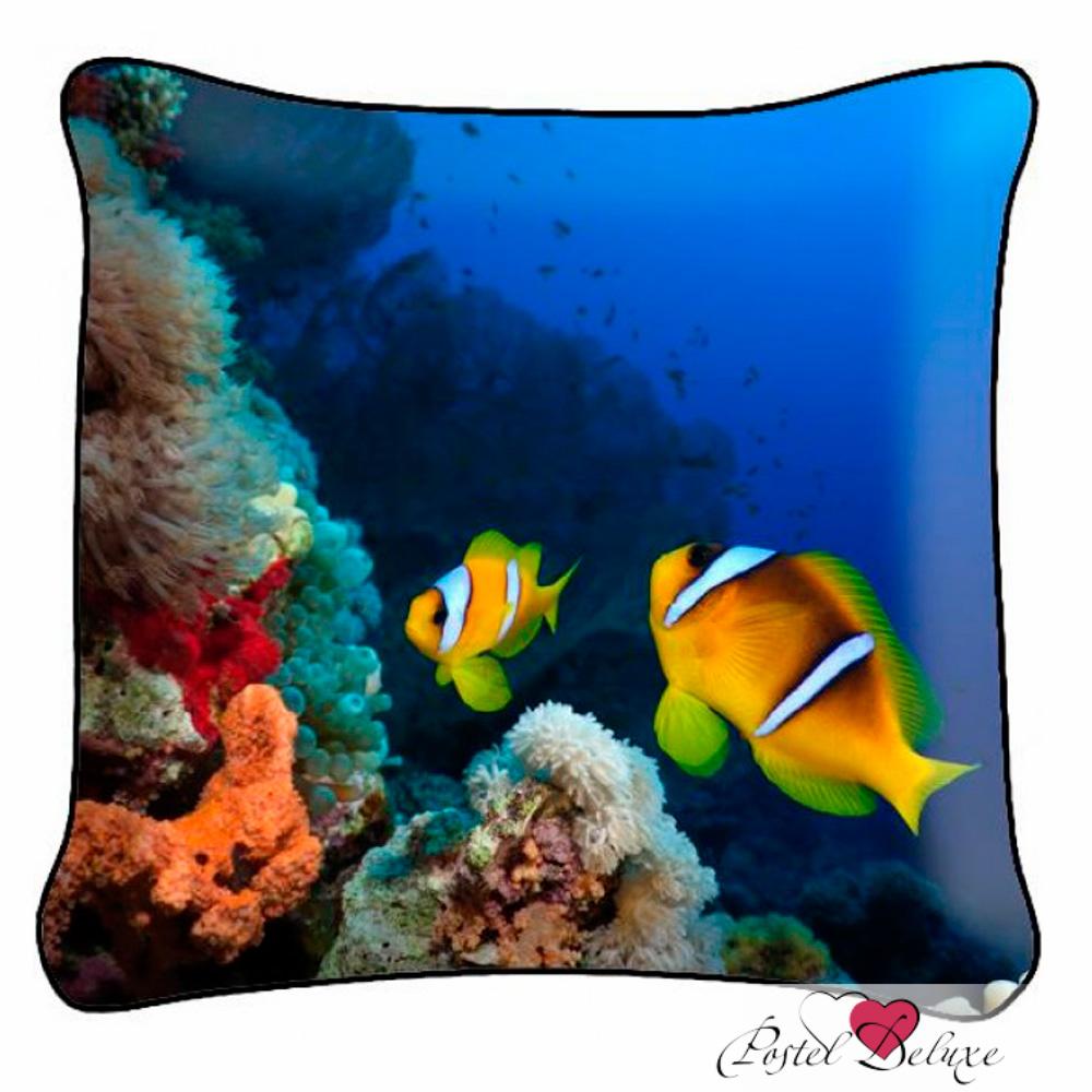 Декоративные подушки Fototende Декоративная подушка На Дне Океана (45х45)