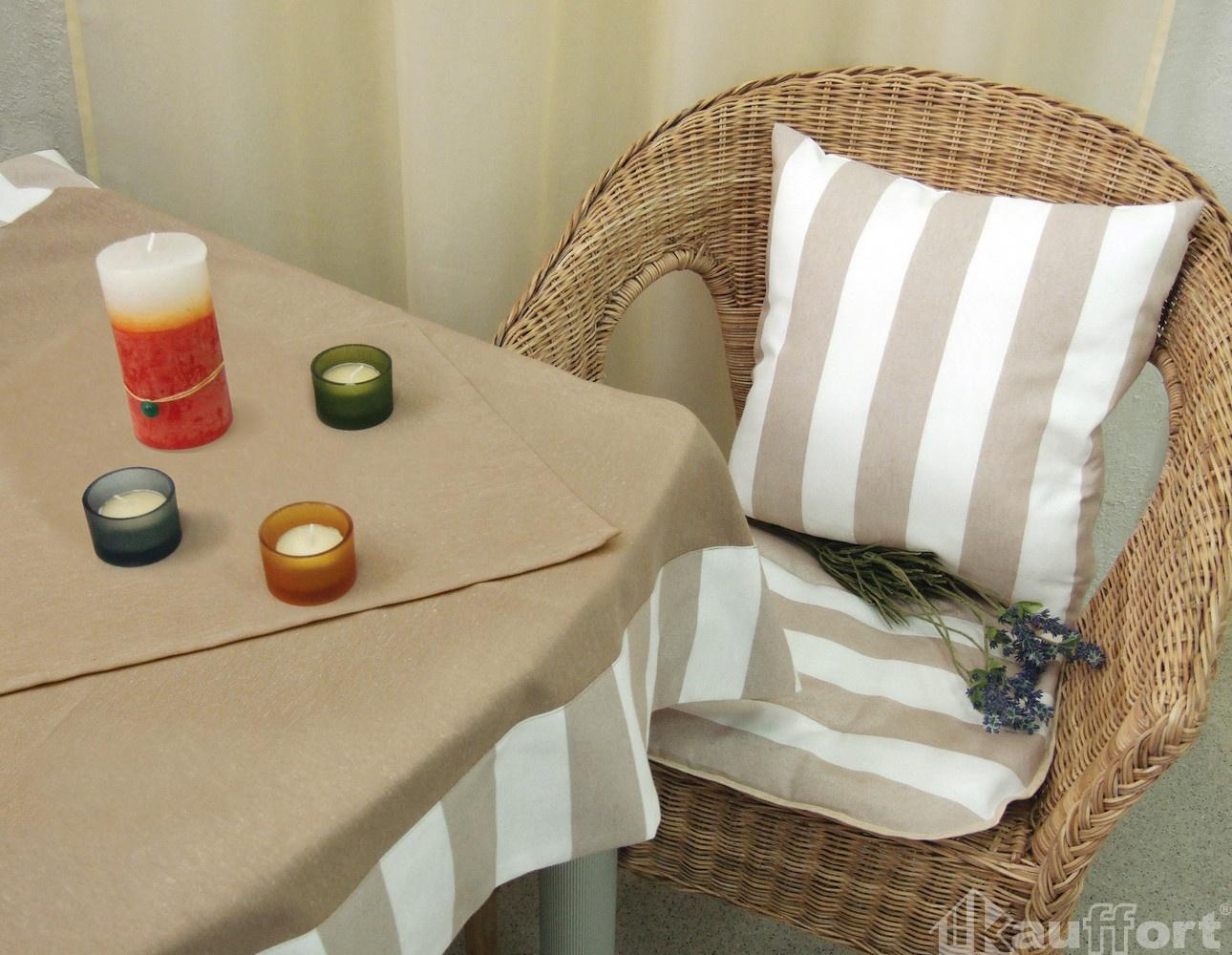 Подушки на стул Kauffort Подушка на стул Krit Цвет: Молоко-Светло-Коричневый (40х40) подушка на стул арти м райский сад
