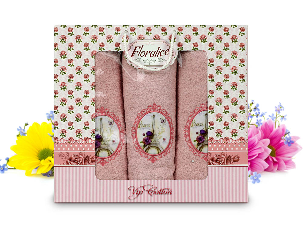 Полотенца Gulcan Полотенце Floralice (Набор) полотенца tango полотенце merrill 75х150 см