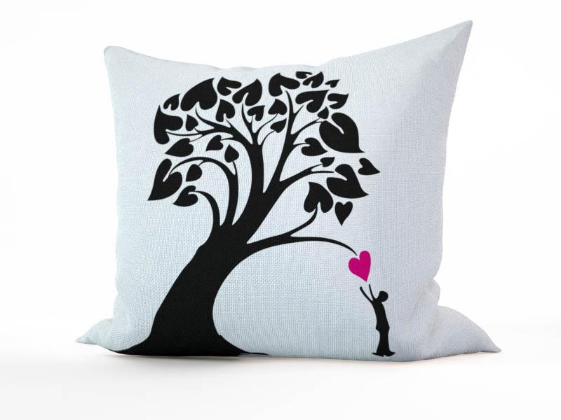 Декоративные подушки StickButik Декоративная подушка Выращиваем Любовь (45х45)