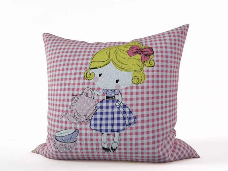 Декоративные подушки StickButik Декоративная подушка Алиса (45х45)
