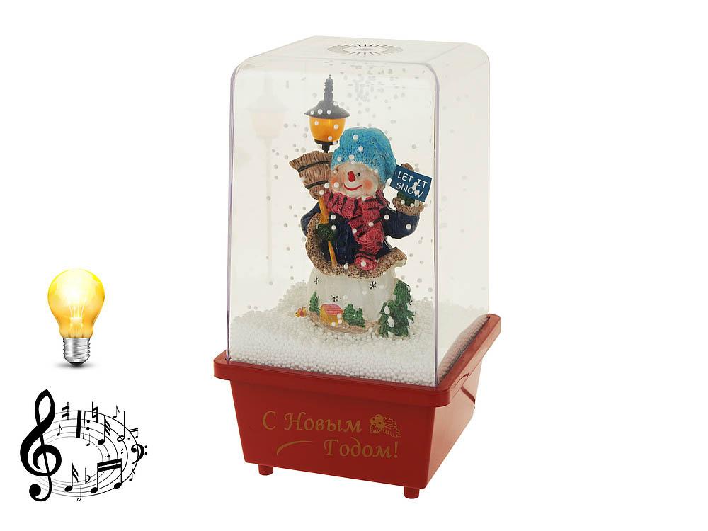 {} Monte Christmas Сувенир Снеговик (16х14х29 см) monte christmas фигурка музыкальная monte christmas n9750006 мульти