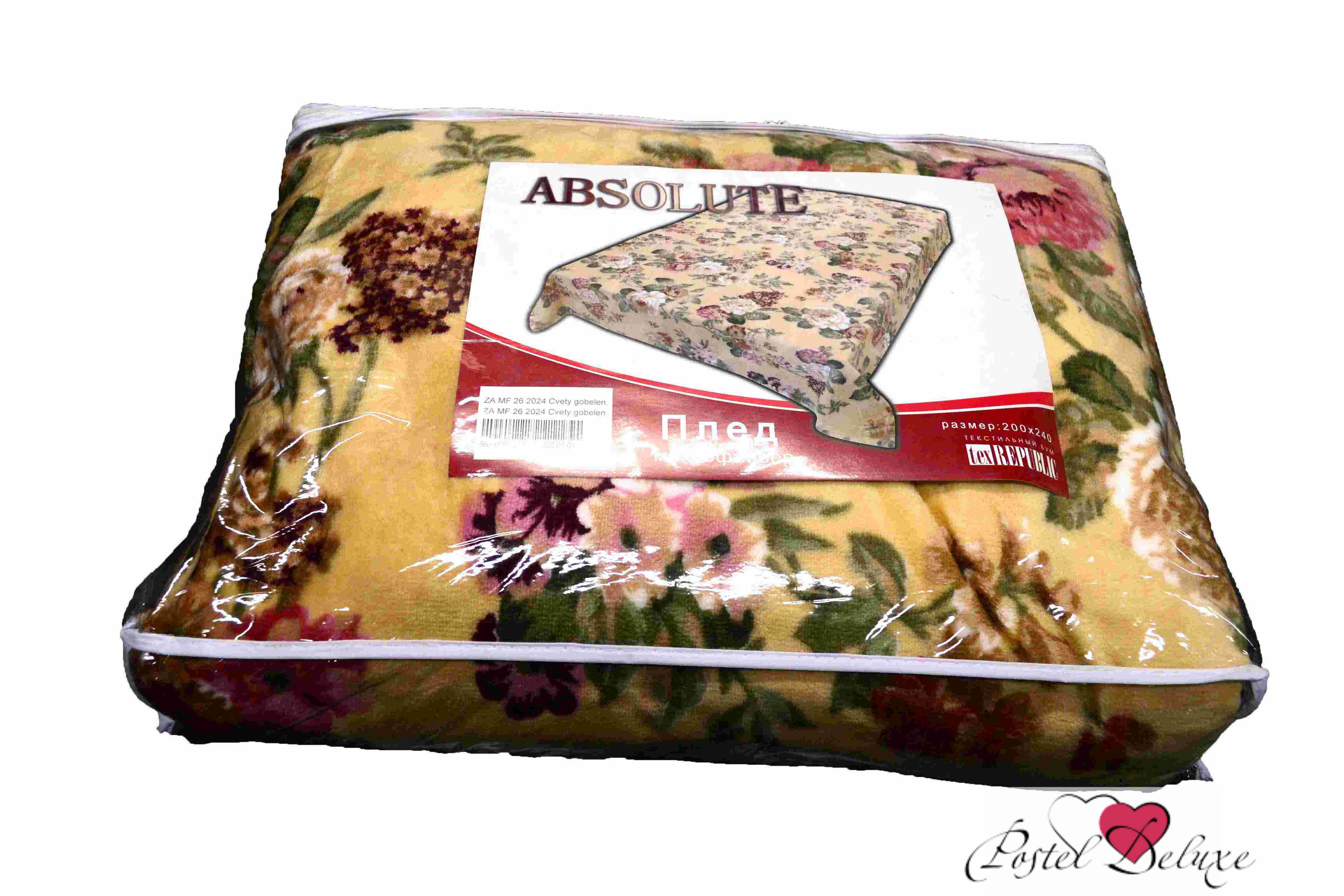 Плед Absolute Плед Цветы Гобелен (150х200 см) плед absolute плед simon 150х200 см