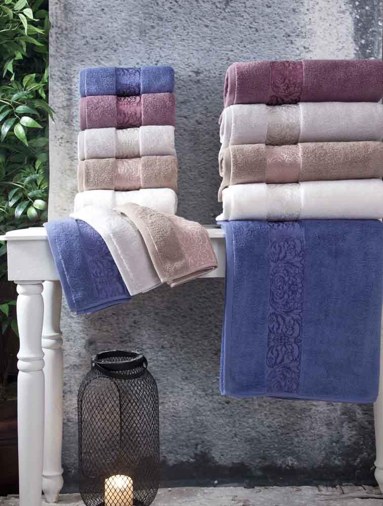 Полотенца Arya Полотенце Jewel Цвет: Темно-Голубой (50х90 см)