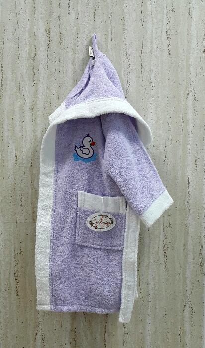 Детские халаты Volenka Детский халат Утёнок (2-4 года) купить шелковый халат мужской спб