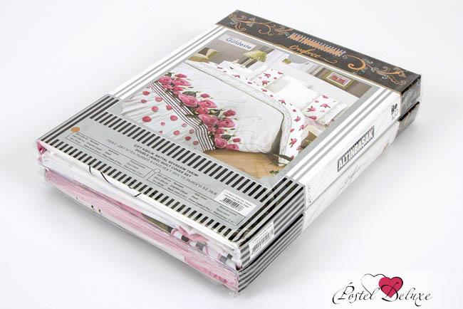 все цены на Постельное белье Altinbasak Постельное белье Sare Цвет: Розовый (1,5 спал.)